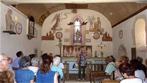 Balade autour de Coulmier-le-Sec @ Devant église de Coulmier-le-Sec