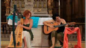Concert : Duo WildSisters, chant, harpe et guitare @ Eglise de Bellenod