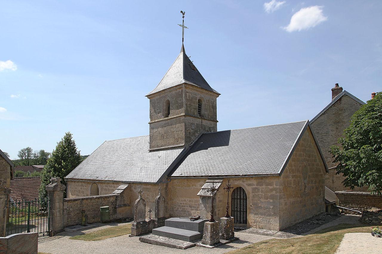 Visite de Beaunotte @ Devant l'église de Beaunotte