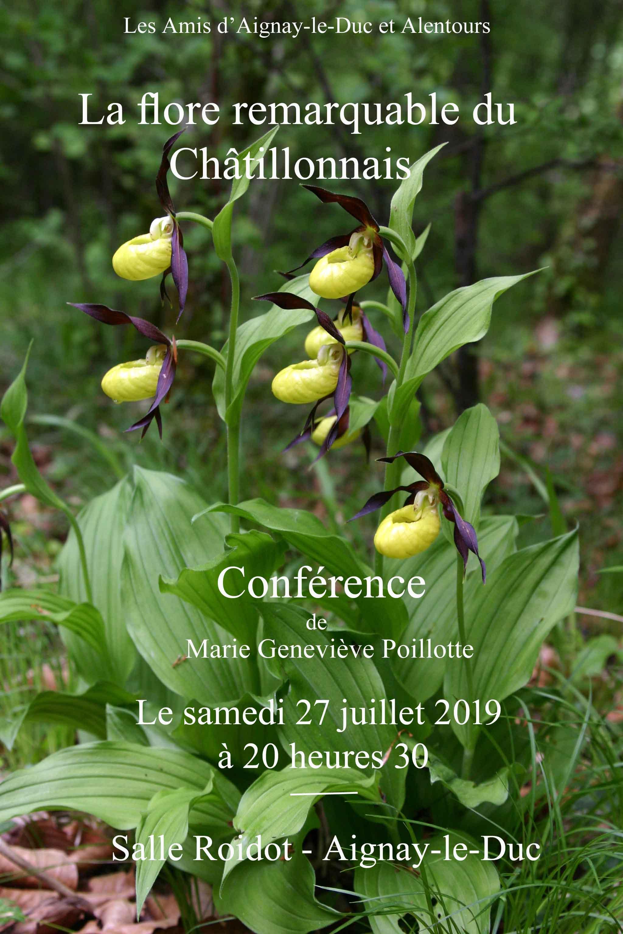 """Conférence """"Flore remarquable du Châtillonnais"""" @ Salle Roidot"""
