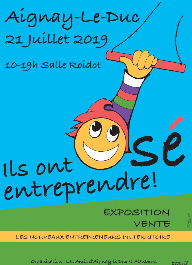 "Expo-vente ""Ils ont osé entreprendre !"" @ Salle Roidot"