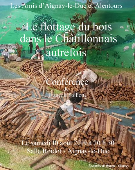 """Conférence """"Le flottage du bois dans le Châtillonnais autrefois"""" @ Salle Roidot"""